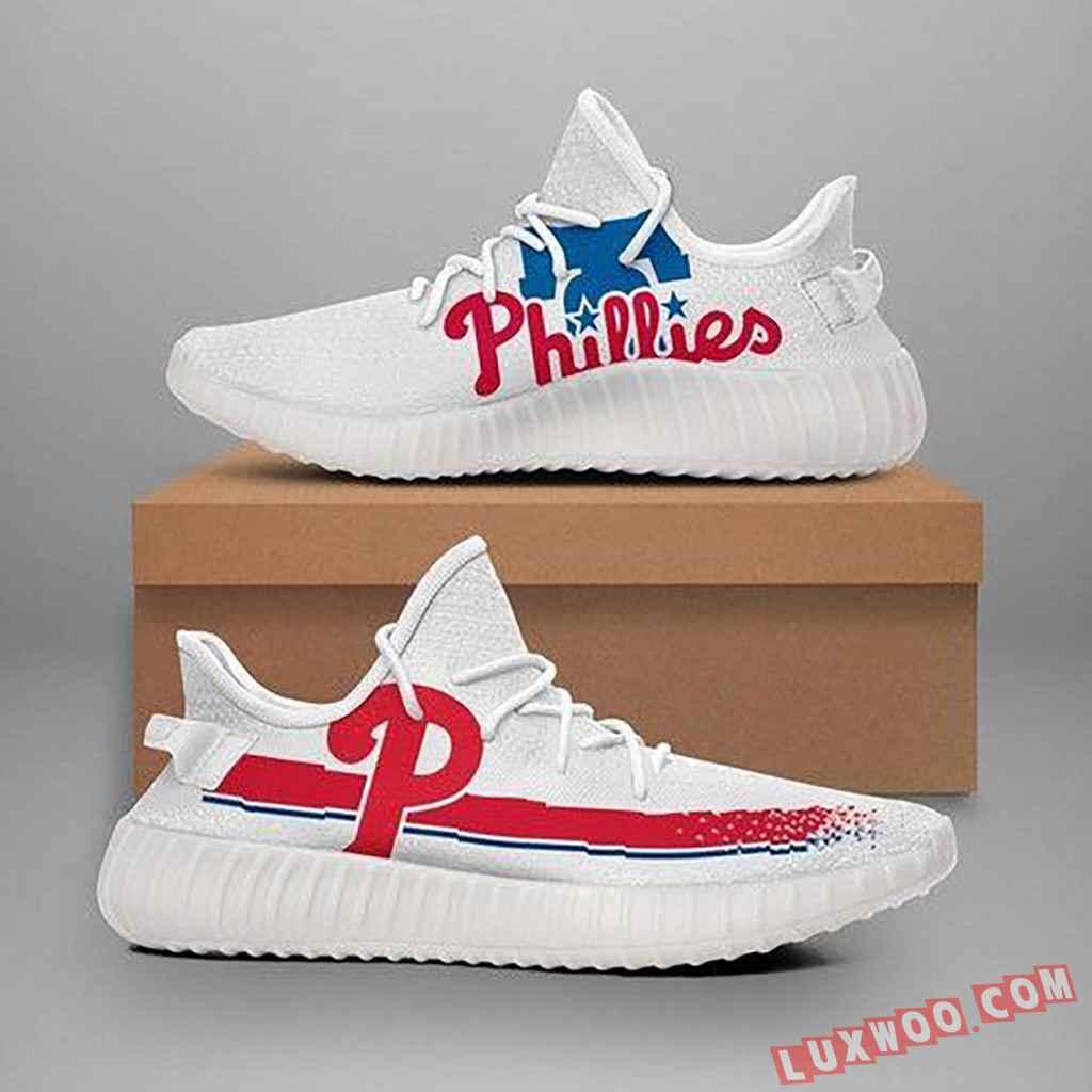 Philadelphia Phillies Mlb Teams Yeezy Boost 350 V2