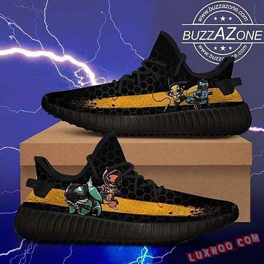 Poke Mon Characters Yeezy Shoes Sneaker