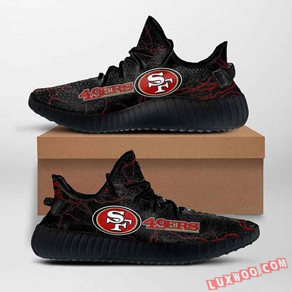 San Francisco 49ers Nfl Custom Yeezy Shoes For Fans Ffs7029