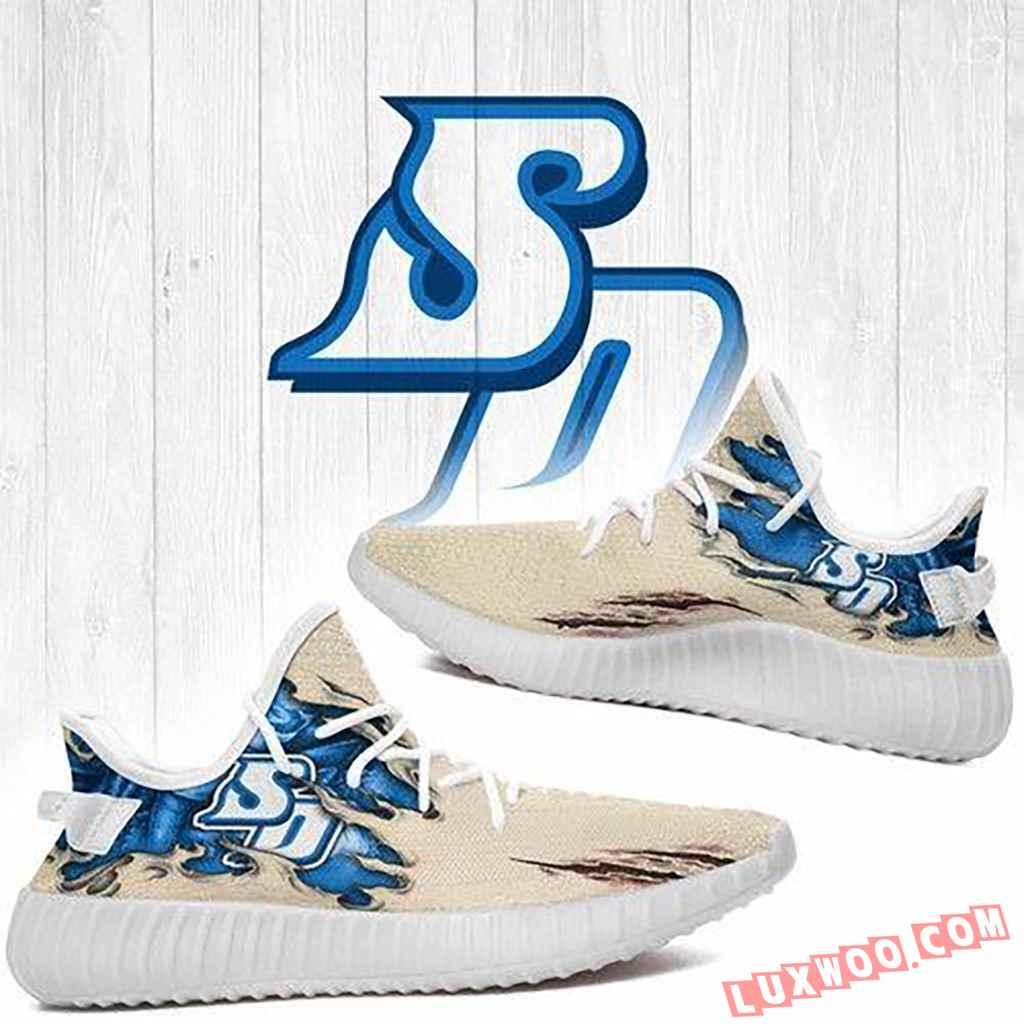 Scratch San Diego Toreros Ncaa Yeezy Boost 350 V2 Shoes