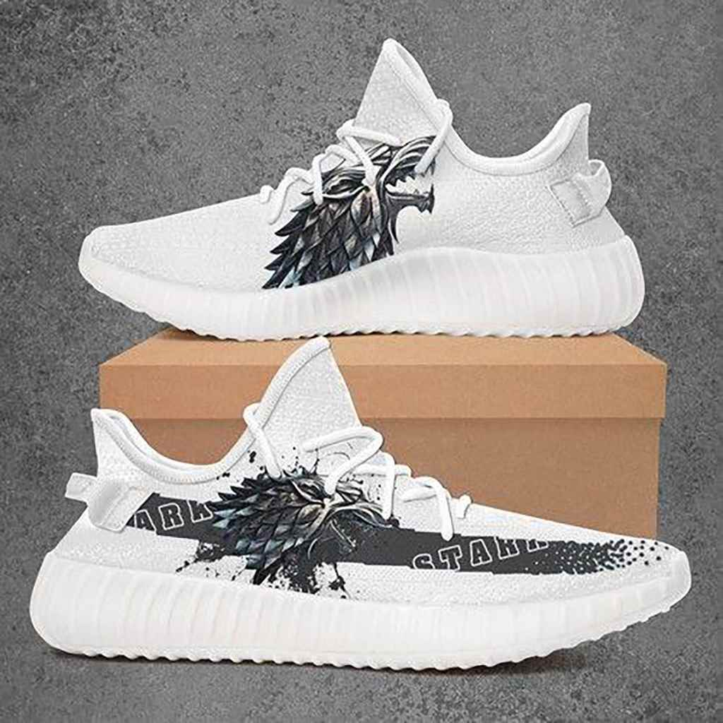 Stark Got Game Of Throne Yeezy Boost 350 V2 Shoes