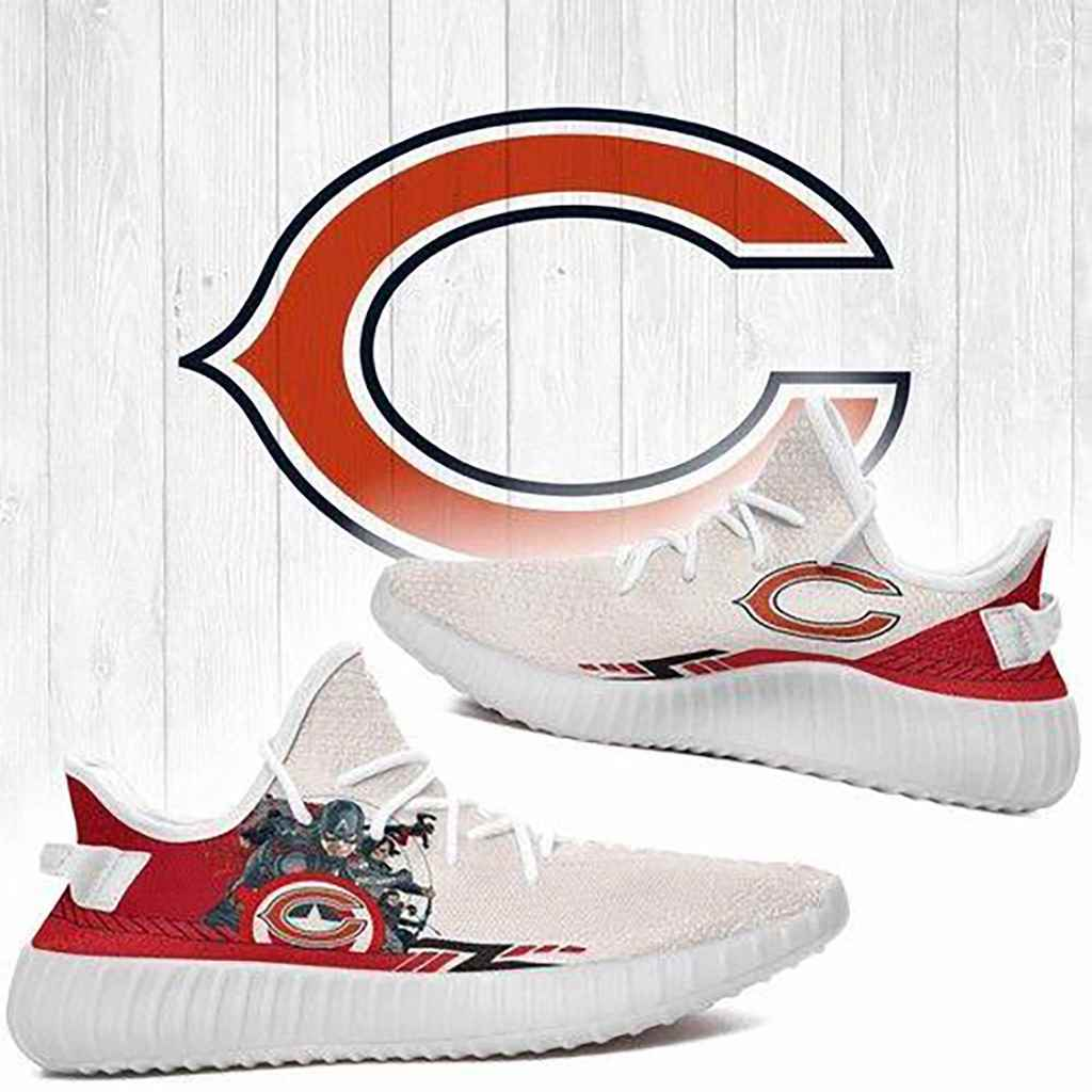 Superheroes Chicago Bears Nfl Yeezy