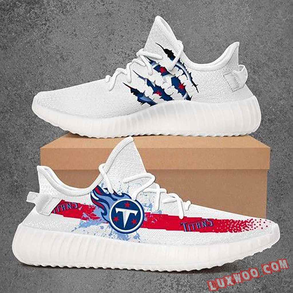 Tennessee Titans Nfl Sport Teams Yeezy Boost 350 V2 Top