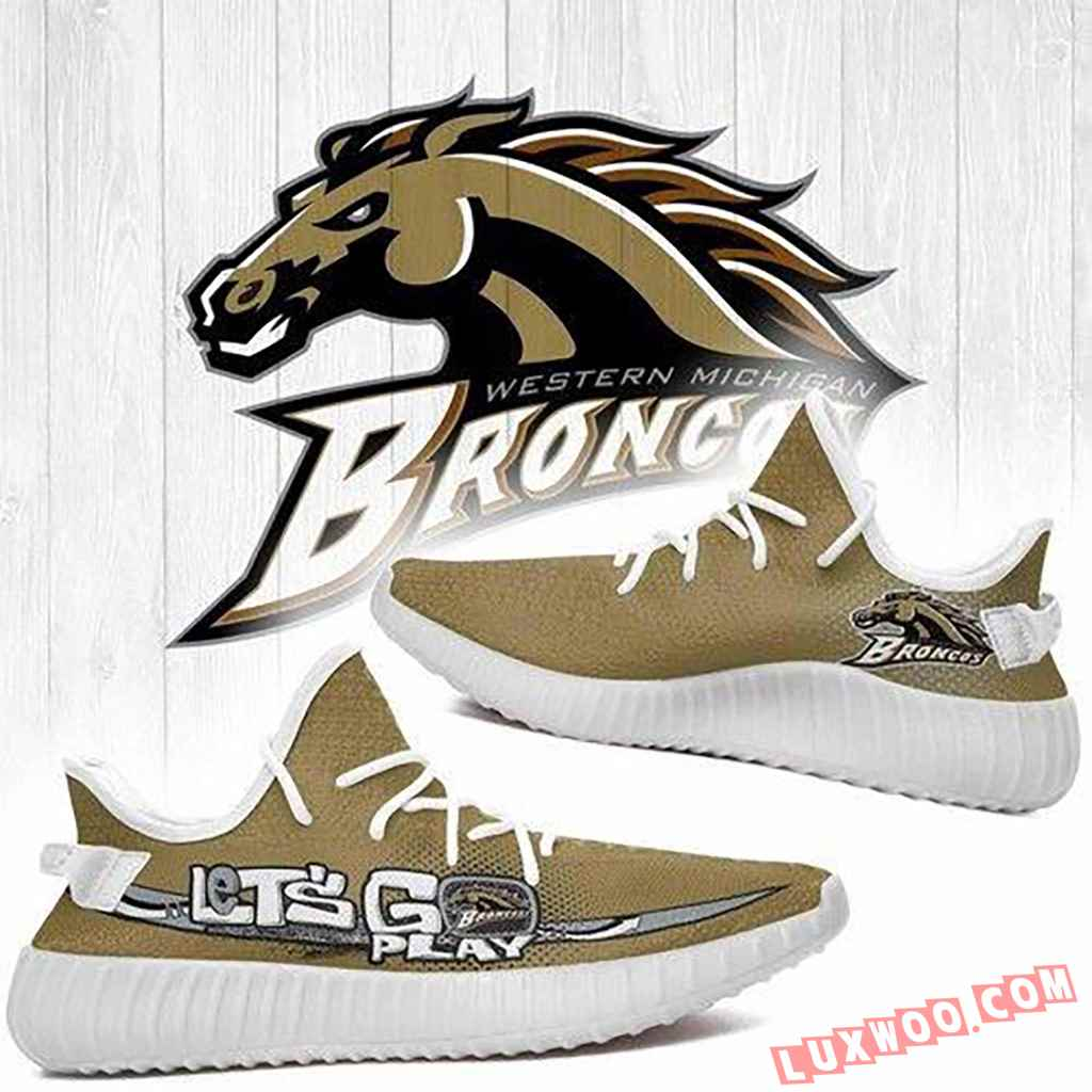 Western Michigan Broncos Ncaa Yeezy Boost 350 V2 Shoes