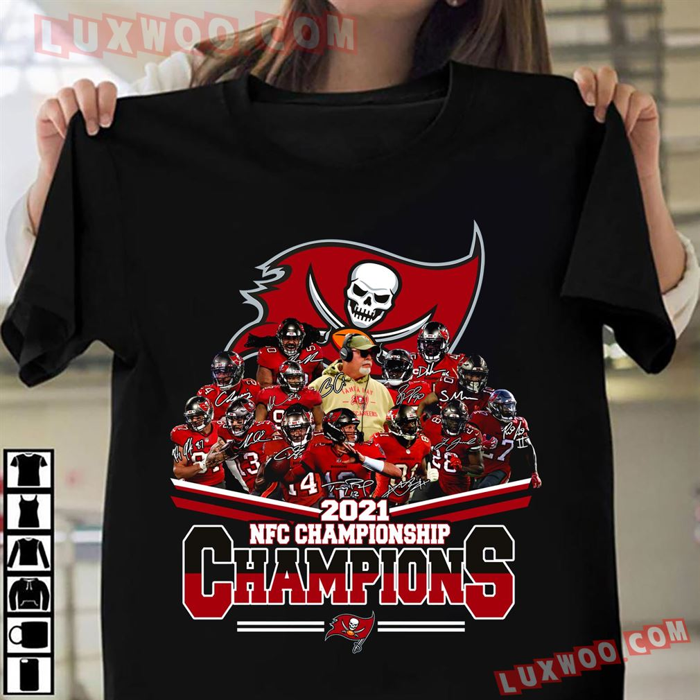 Tampa Bay Buccaneers Nfc Championship 2021 Champions