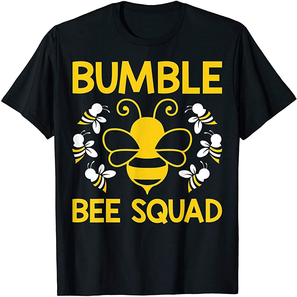 Bumble Bee Squad Bumblebee Team Group Family Friends Plus Size Up To 5xl