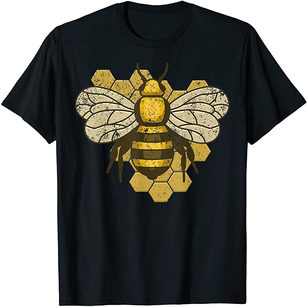 Retro Beekeeper Beekeeping Bumblebee Vintage Save The Bees T-shirt Plus Size Up To 5xl
