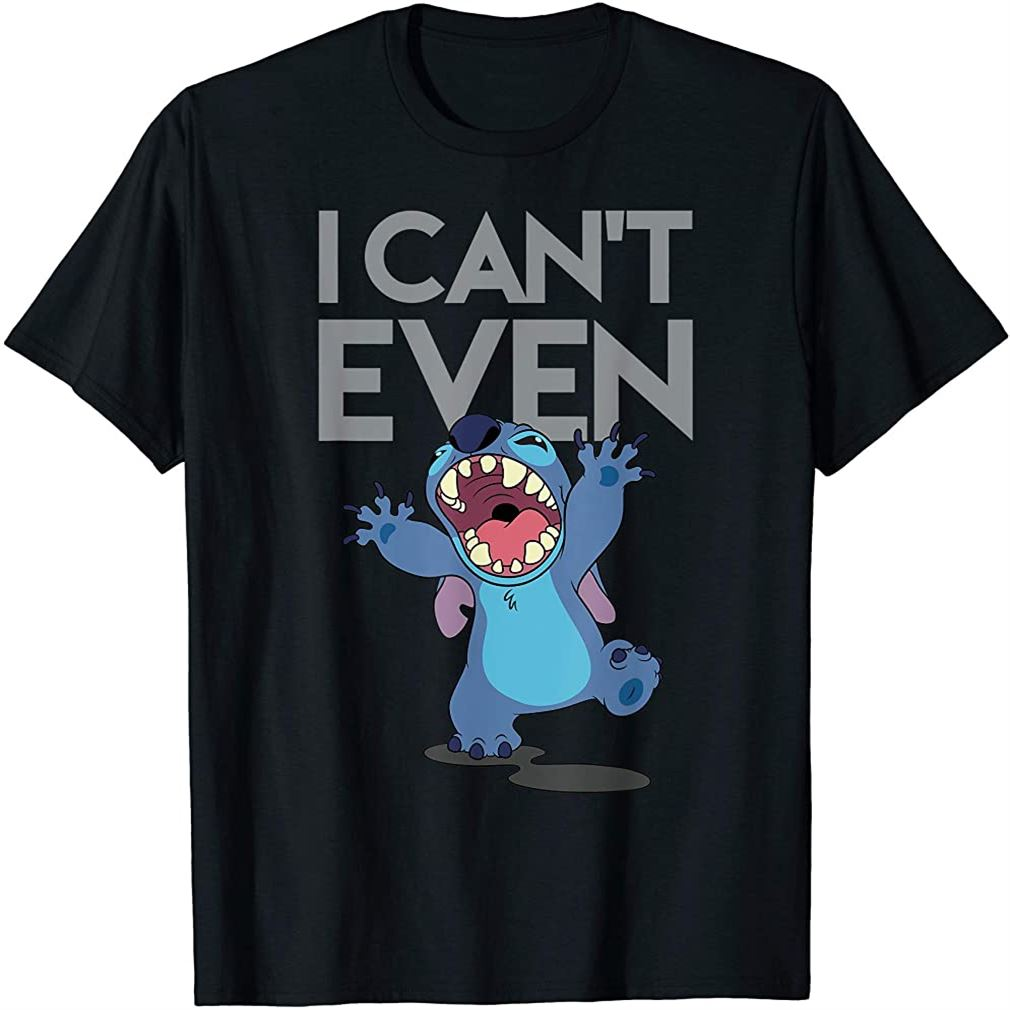 Cant Even Lilo And Stitch T-shirt Size Up To 5xl