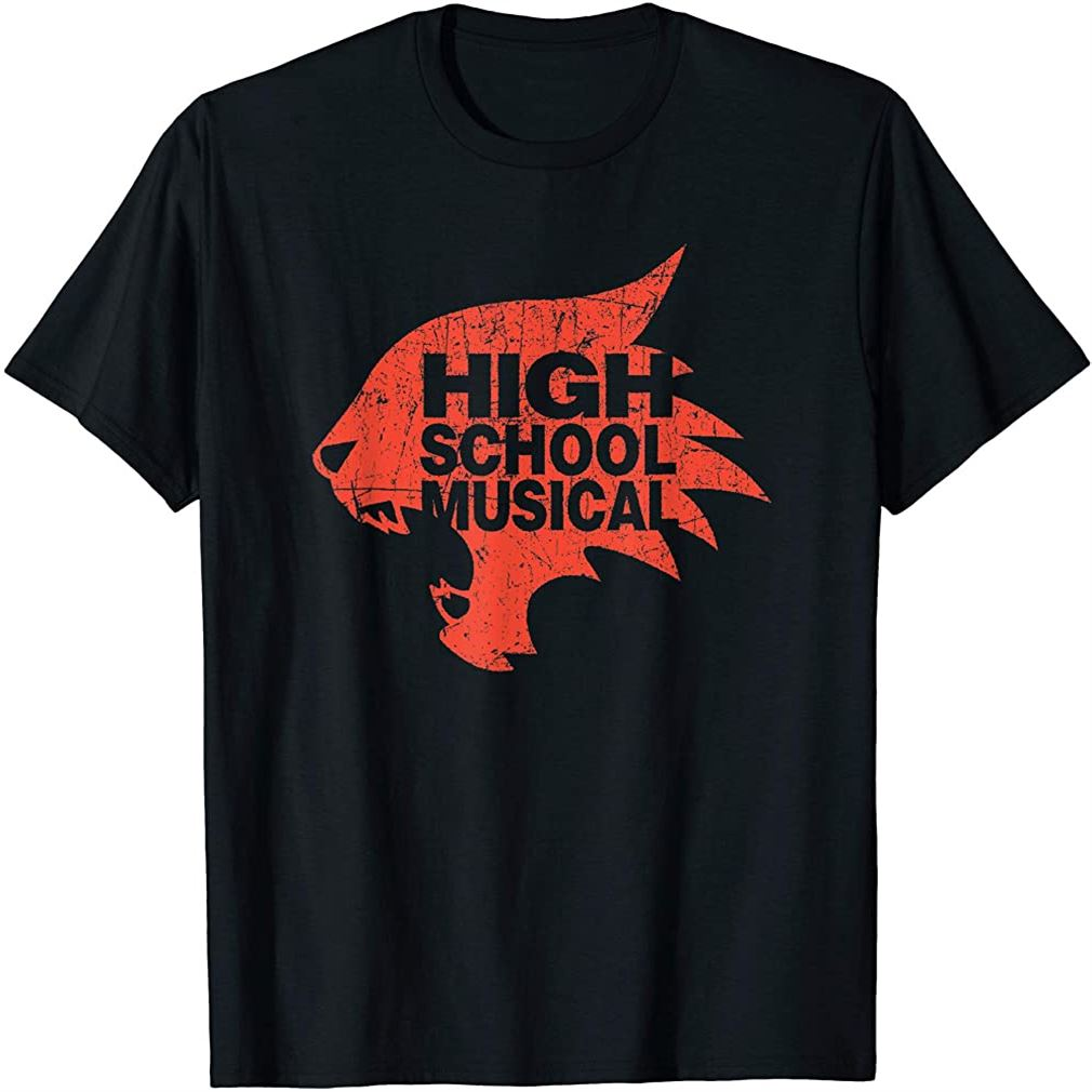 Channel High School Musical Wildcats T-shirt Plus Size Up To 5xl
