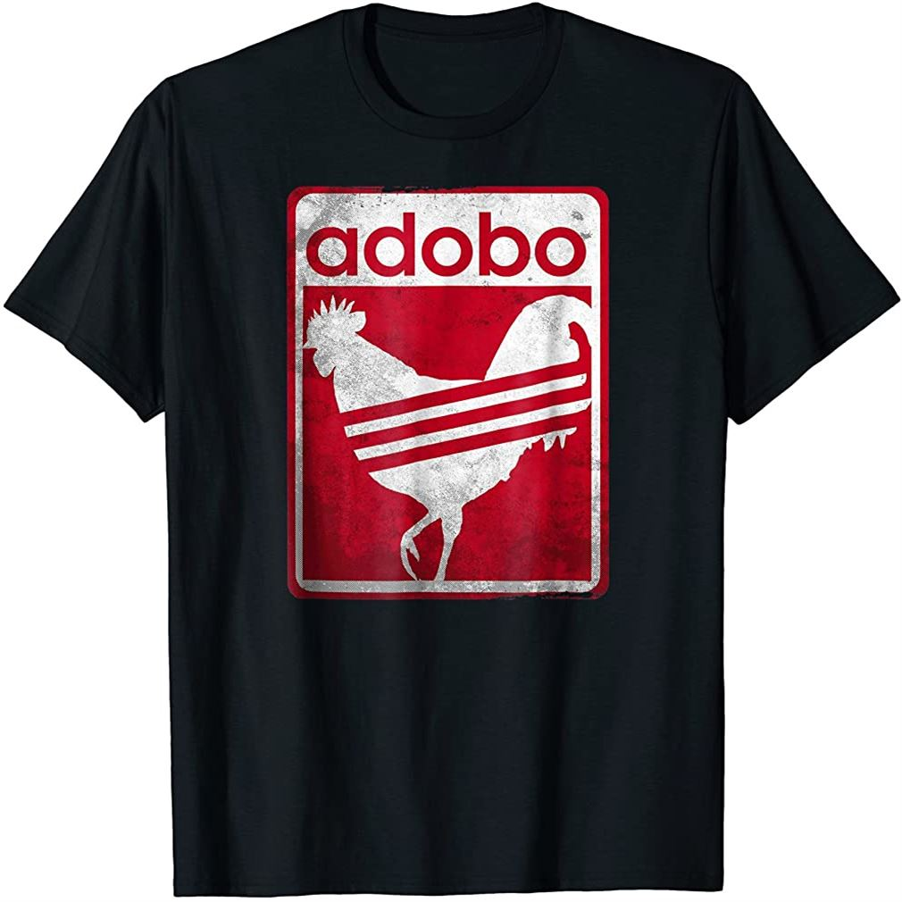 Pinoy Shirt Distressed Chicken Adobo Filipino Shirt Size Up To 5xl