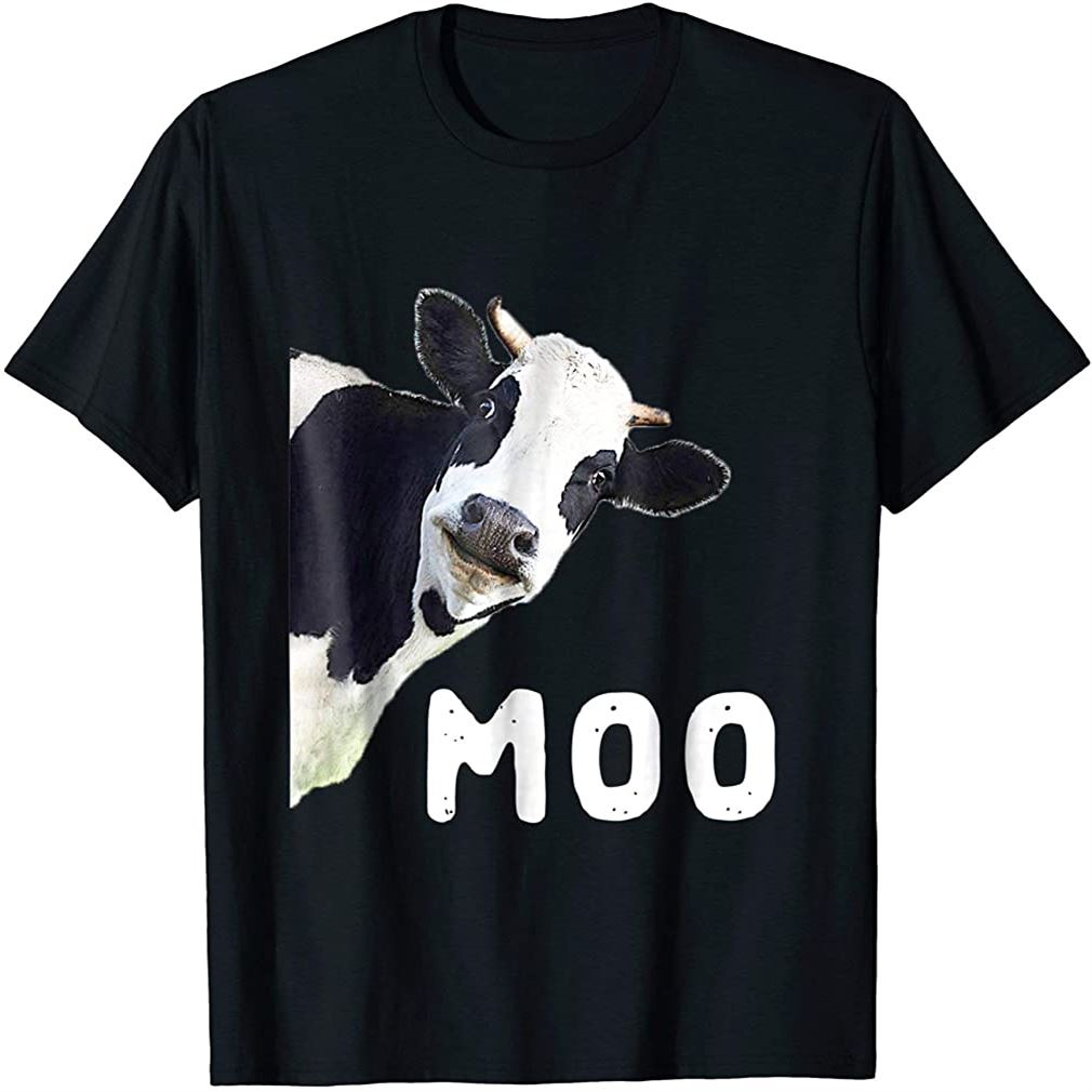 Cow Tshirt Plus Size Up To 5xl
