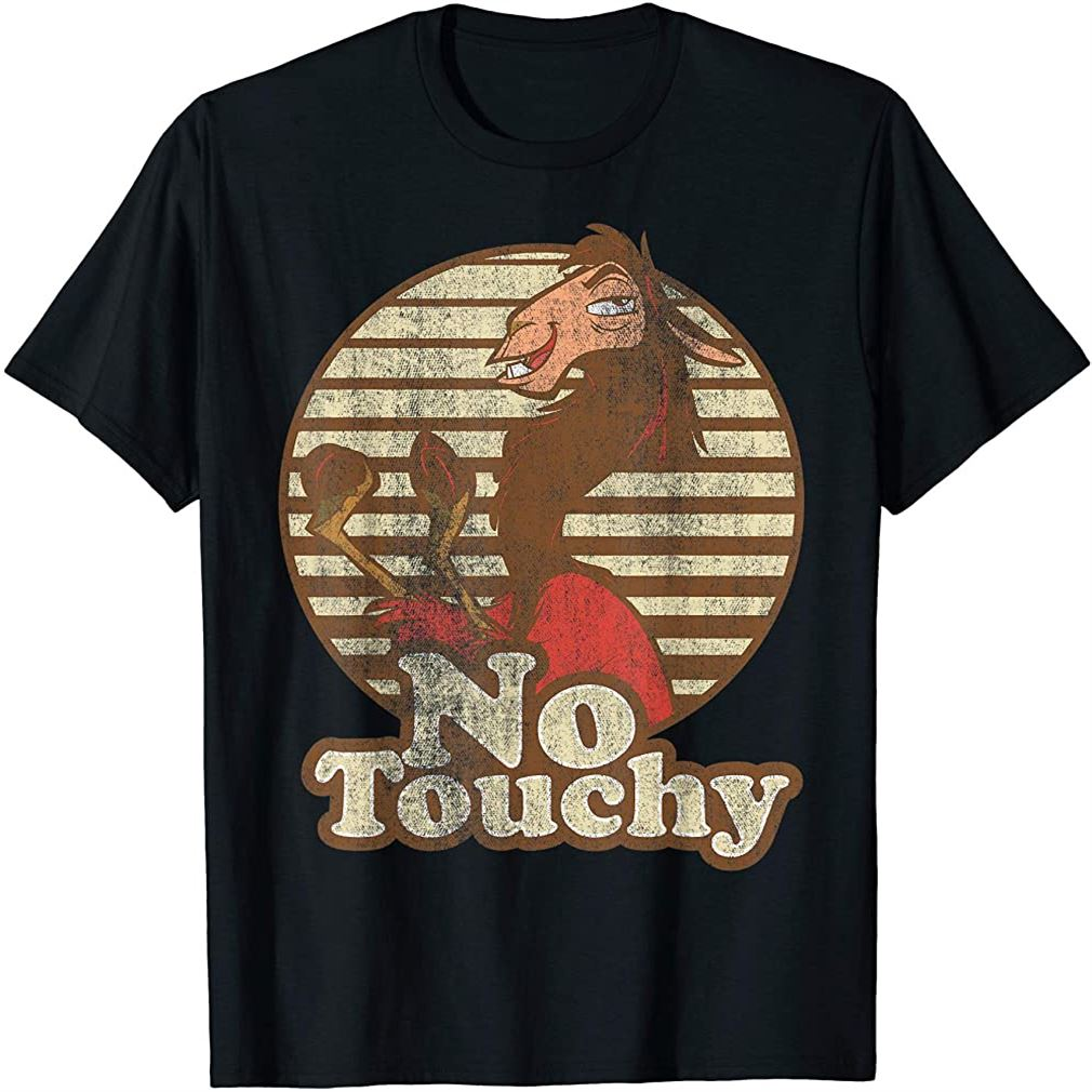 Emperors New Groove Kuzco Llama No Touchy T-shirt T-shirt Size Up To 5xl