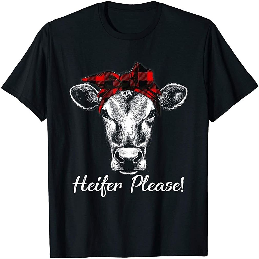 Heifer Please Shirt Farmer Gift Cow Lovers T-shirt Size Up To 5xl