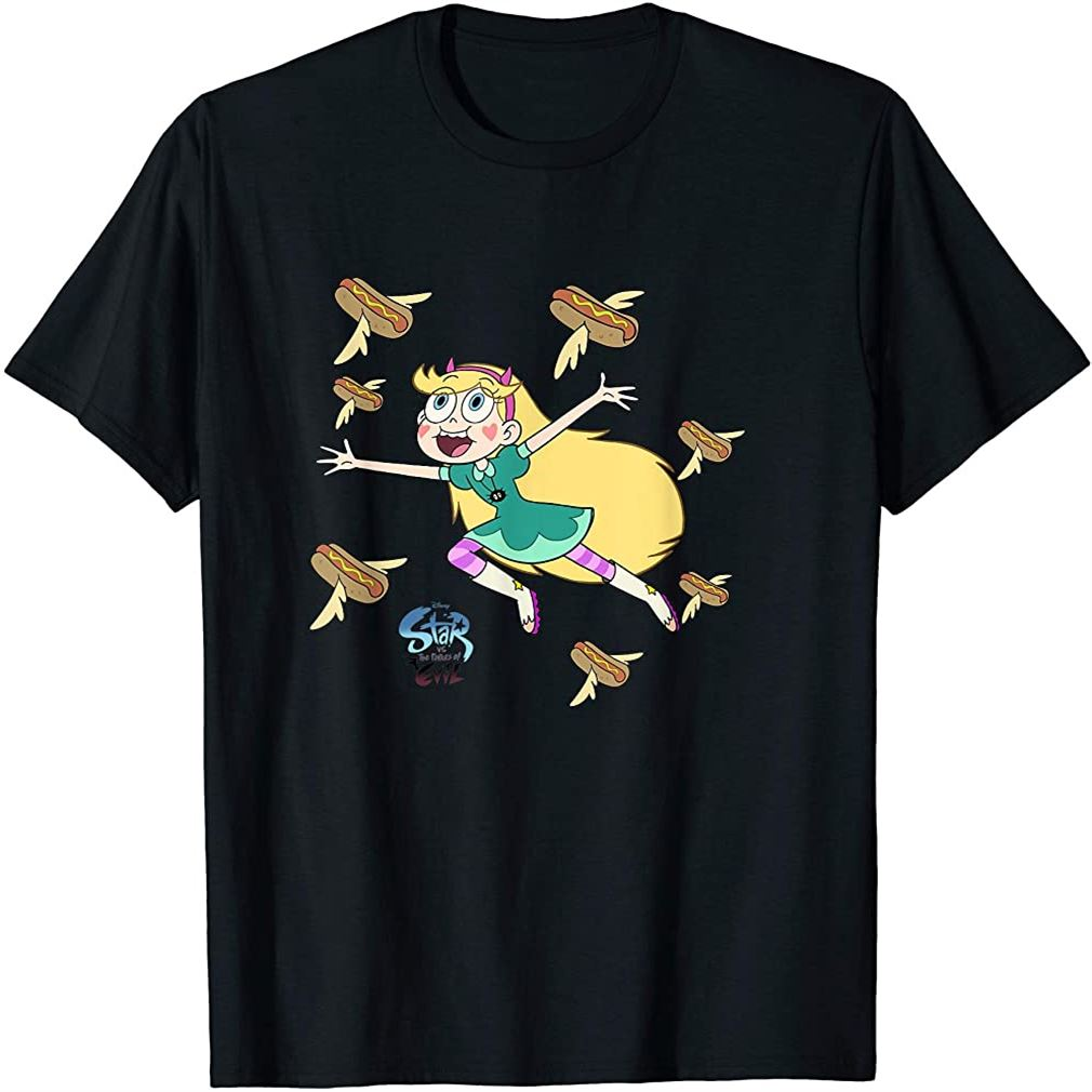 Channel Star Vs The Forces Of Evil Hot Dog T-shirt Plus Size Up To 5xl