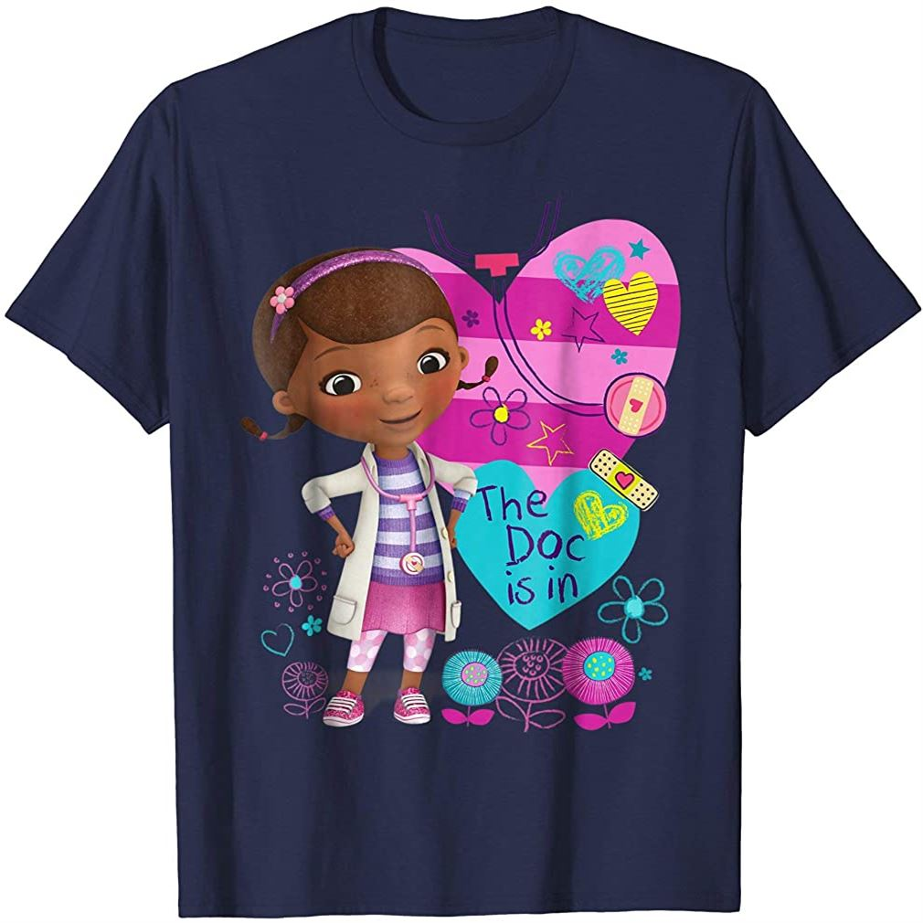 Doc Mcstuffins The Dog Is In T-shirt Plus Size Up To 5xl