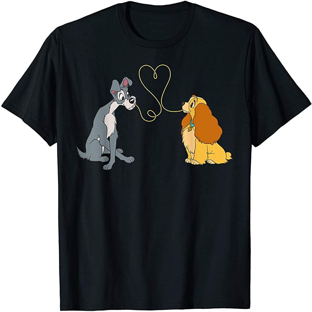 Lady And The Tramp Bella Notte T-shirt Size Up To 5xl