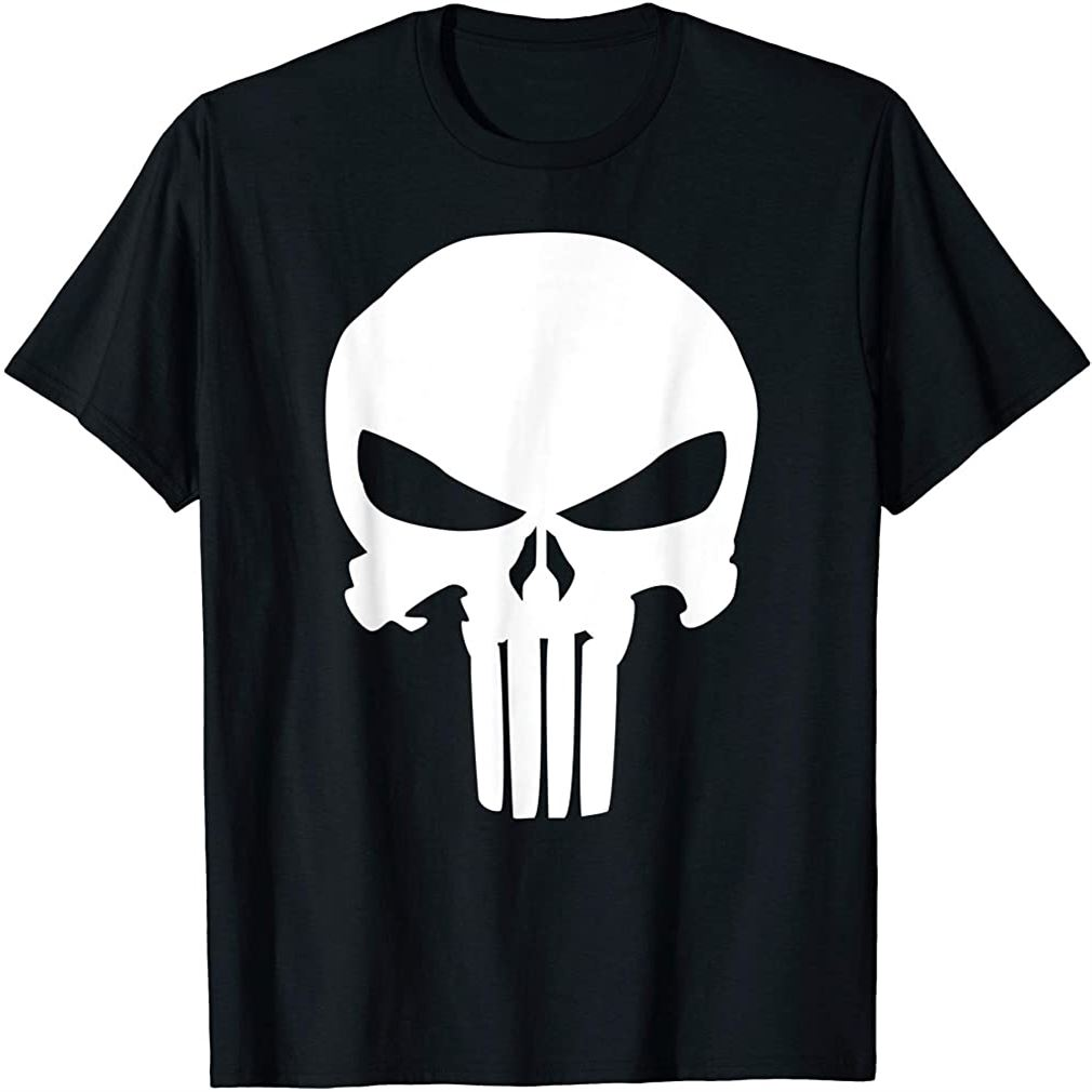 Punisher Classic Skull Symbol Graphic T-shirt T-shirt Plus Size Up To 5xl