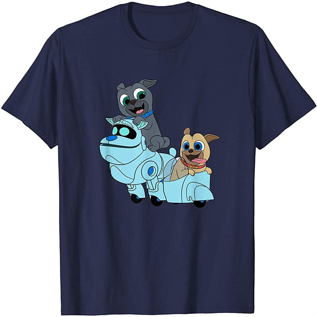 Puppy Dog Pals Bingo Rolly Arf T-shirt Plus Size Up To 5xl