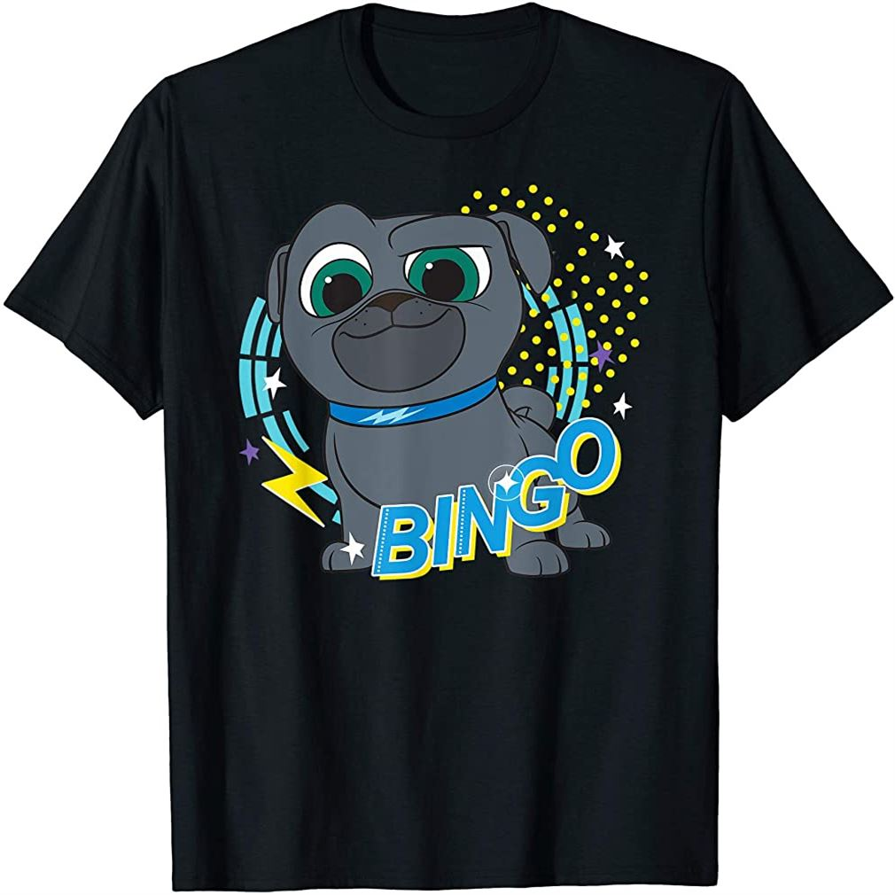 Puppy Dog Pals Bingo T-shirt Plus Size Up To 5xl