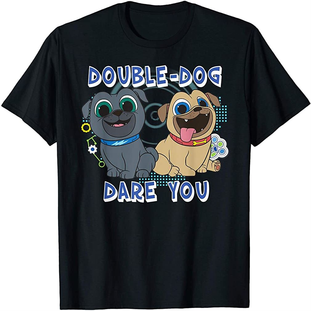 Puppy Dog Pals Double Dog Dare You T-shirt Size Up To 5xl