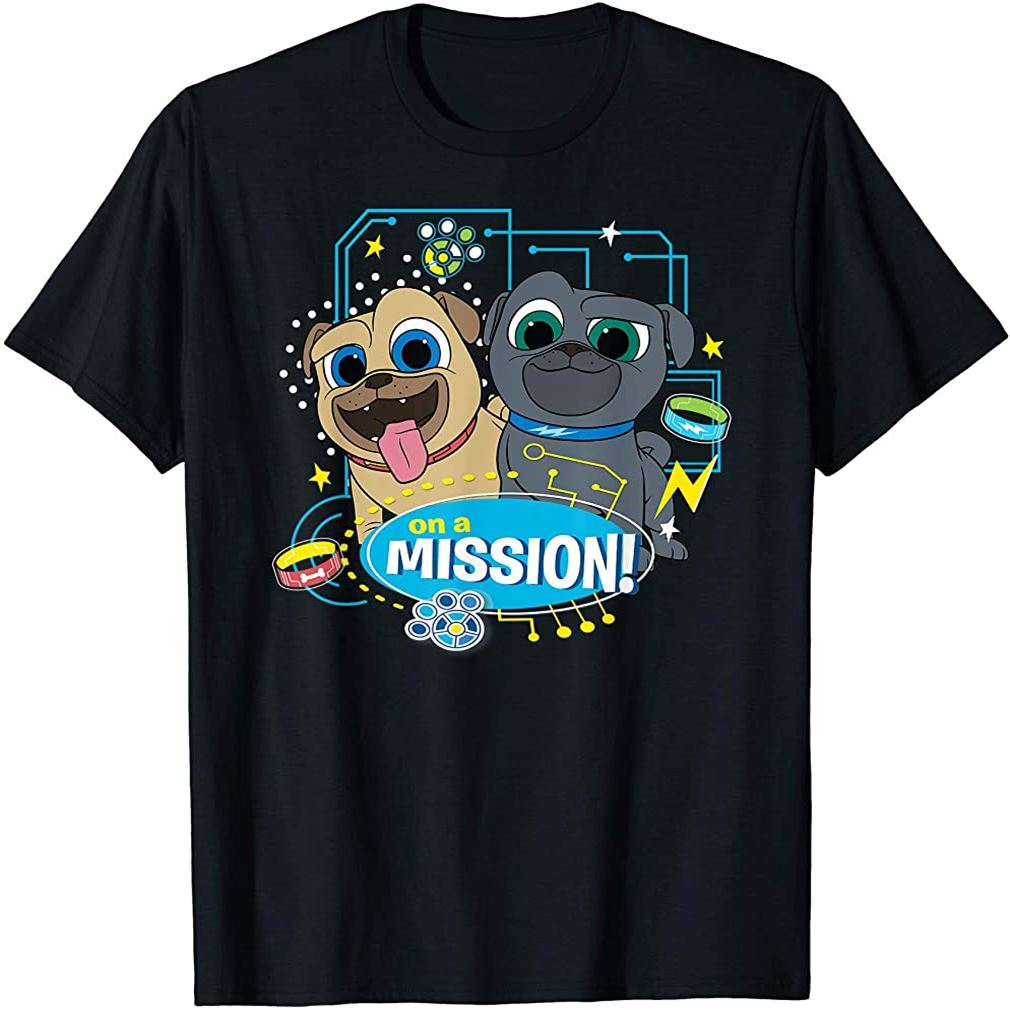 Puppy Dog Pals On A Mission T-shirt Size Up To 5xl