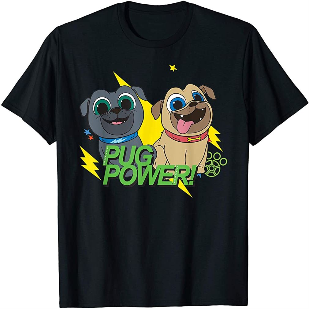 Puppy Dog Pals Pug Power T-shirt Size Up To 5xl