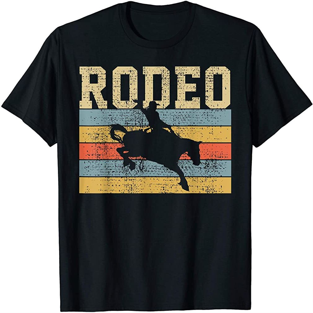 Horse Riding Retro Vintage Western Country Gift T-shirt Size Up To 5xl