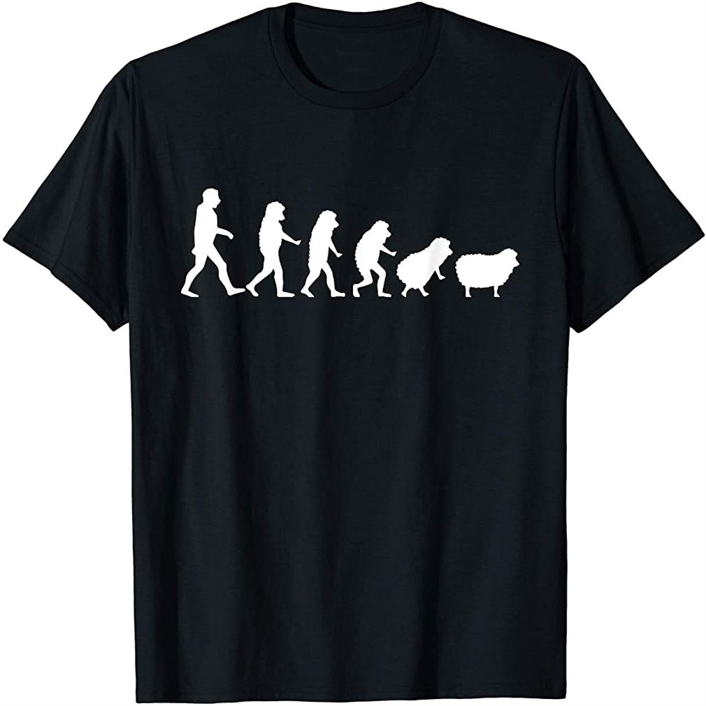Conspiracy Theorist Human Evolution Wake Up Sheeple Sheep T-shirt Size Up To 5xl