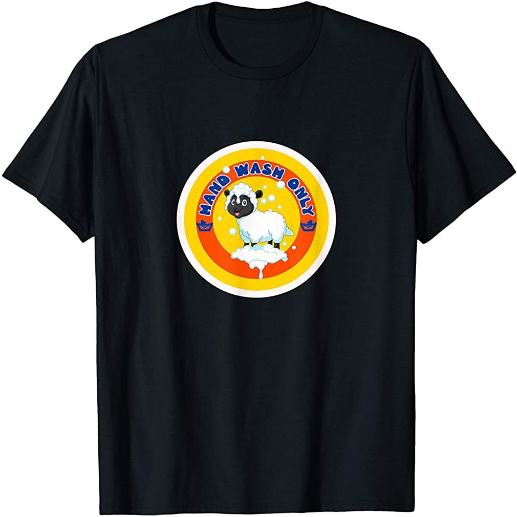 Cute Sheep - Hand Wash Only T-shirt Size Up To 5xl
