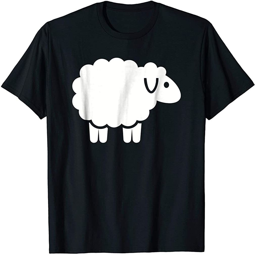 Cute Sheep T-shirt Plus Size Up To 5xl
