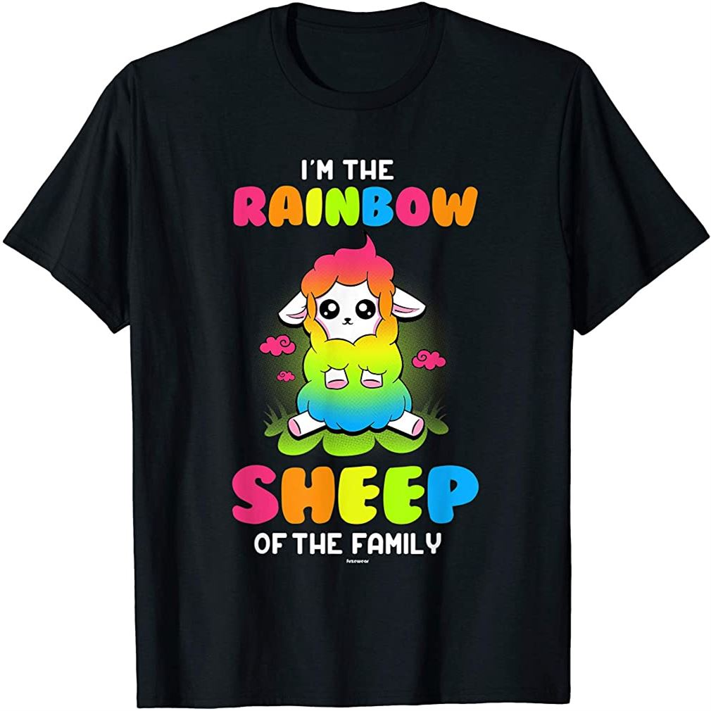 Im The Rainbow Sheep Of The Family T-shirt Plus Size Up To 5xl