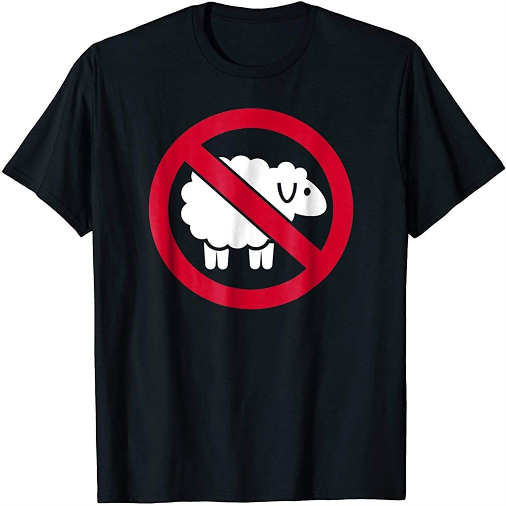 No Sheeps T-shirt Size Up To 5xl