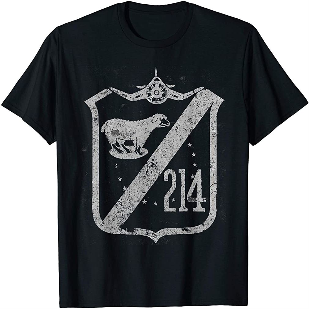 Vmf-214 Black Sheep Squadron Wwii Vintage Insignia T-shirt Plus Size Up To 5xl