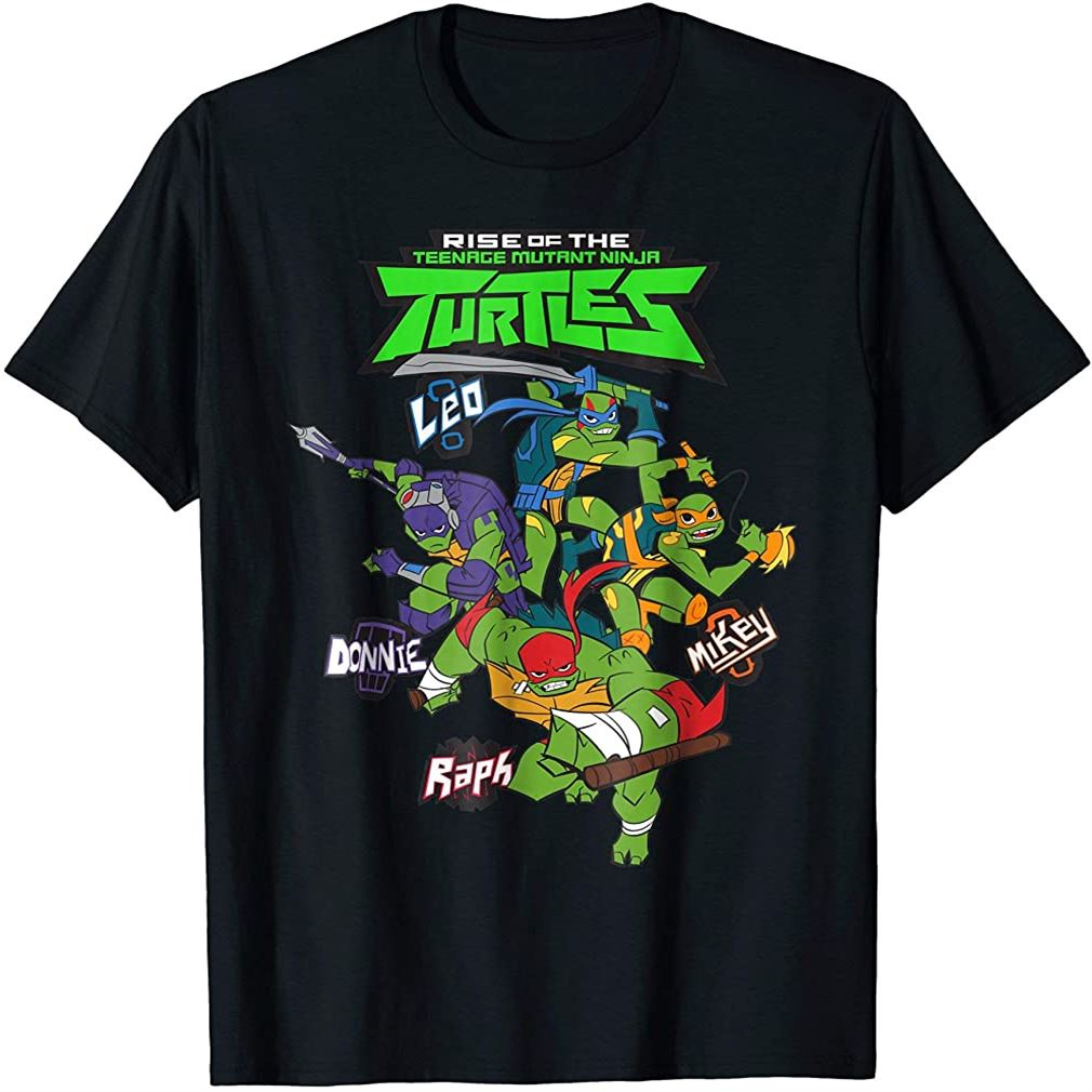 Rise Of The Teenage Mutant Ninja Turtles Blast T-shirt Size Up To 5xl