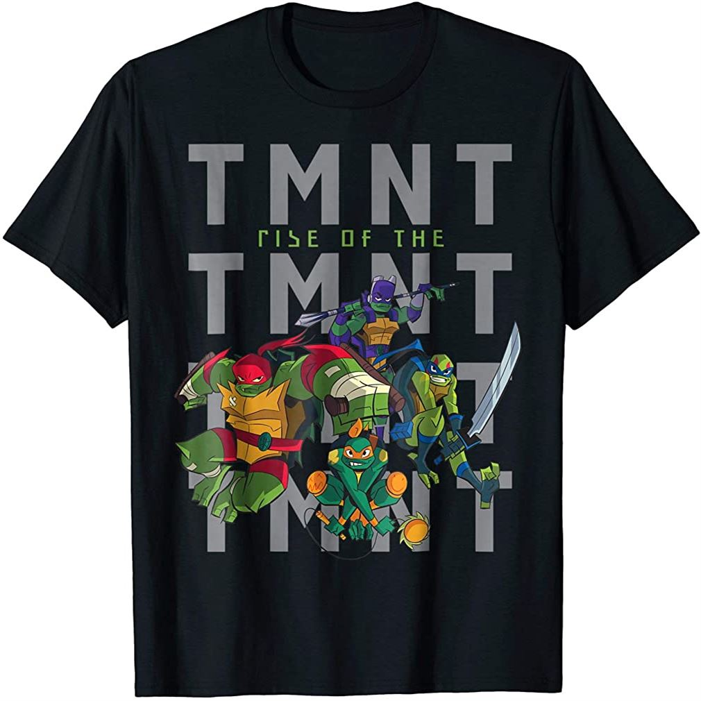 Rise Of The Teenage Mutant Ninja Turtles Squad T-shirt Size Up To 5xl