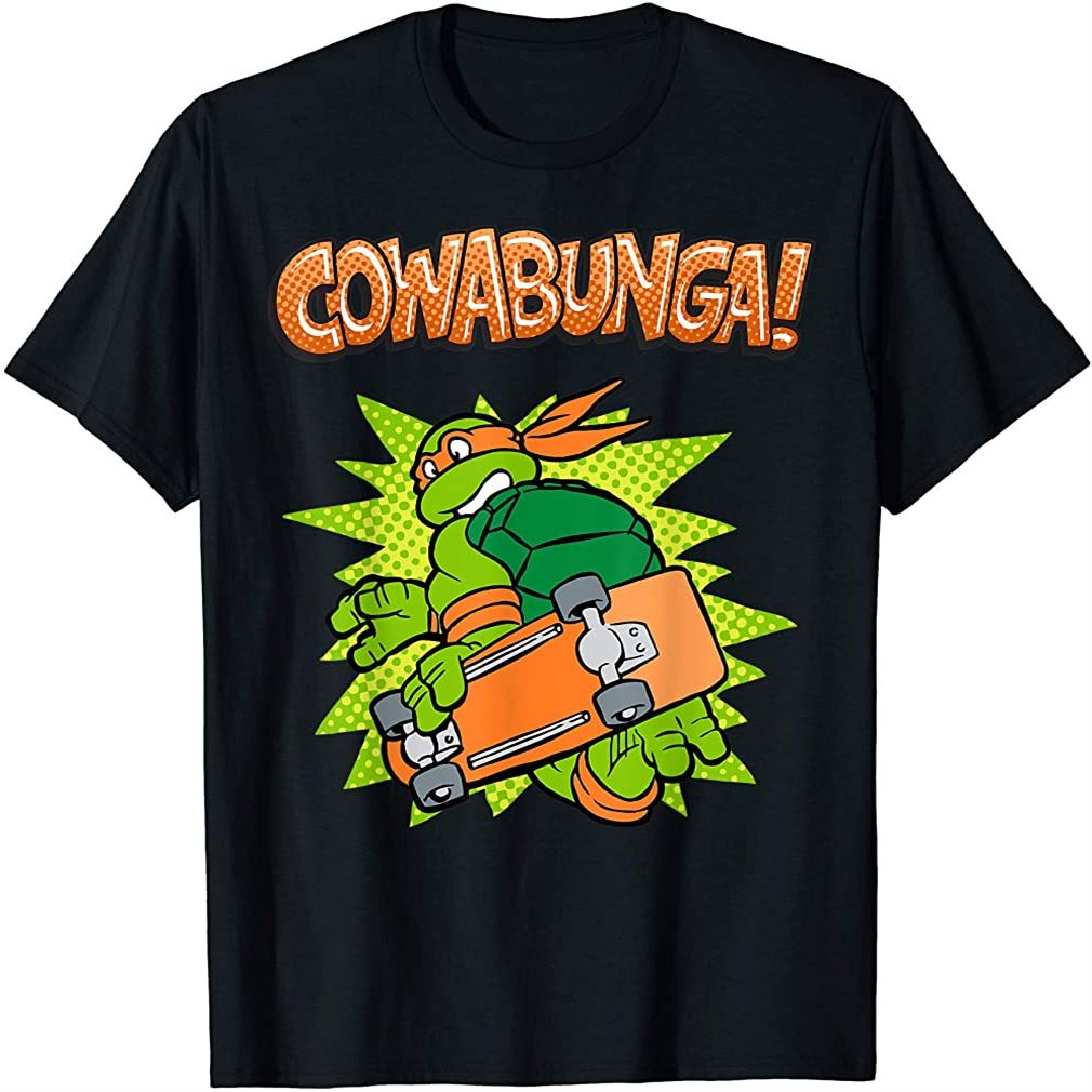 Teenage Mutant Ninja Turtles Cowabunga T-shirt Plus Size Up To 5xl