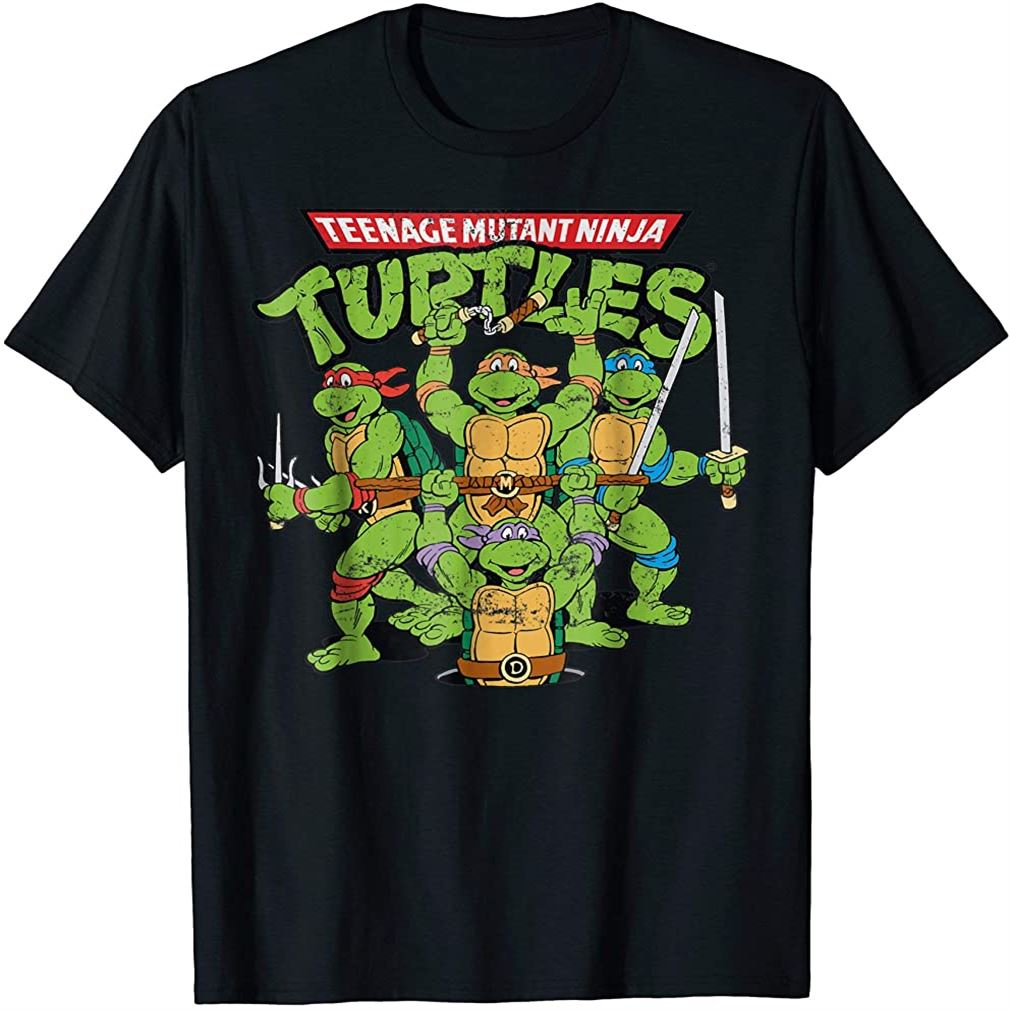 Teenage Mutant Ninja Turtles T-shirt Size Up To 5xl
