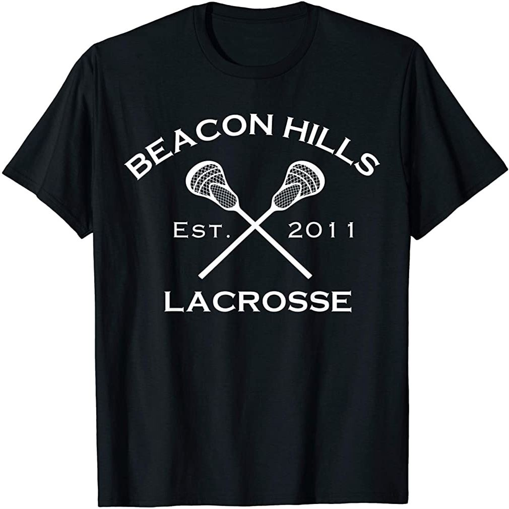 Beacon Hills Stilinski 24 Lacrosse Teen Wolf Inspired Tshirt Plus Size Up To 5xl