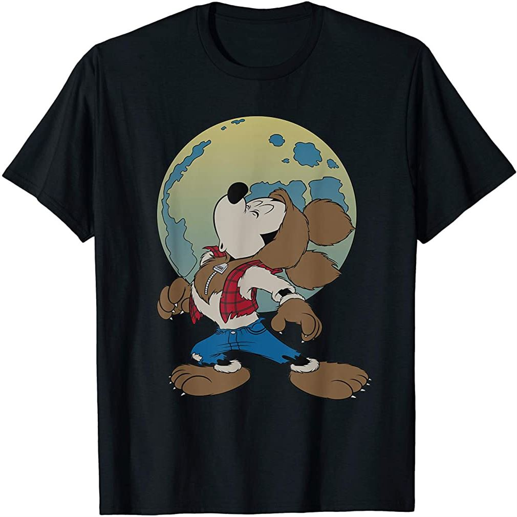 Mickey Mouse Werewolf Halloween Costume T-shirt Size Up To 5xl