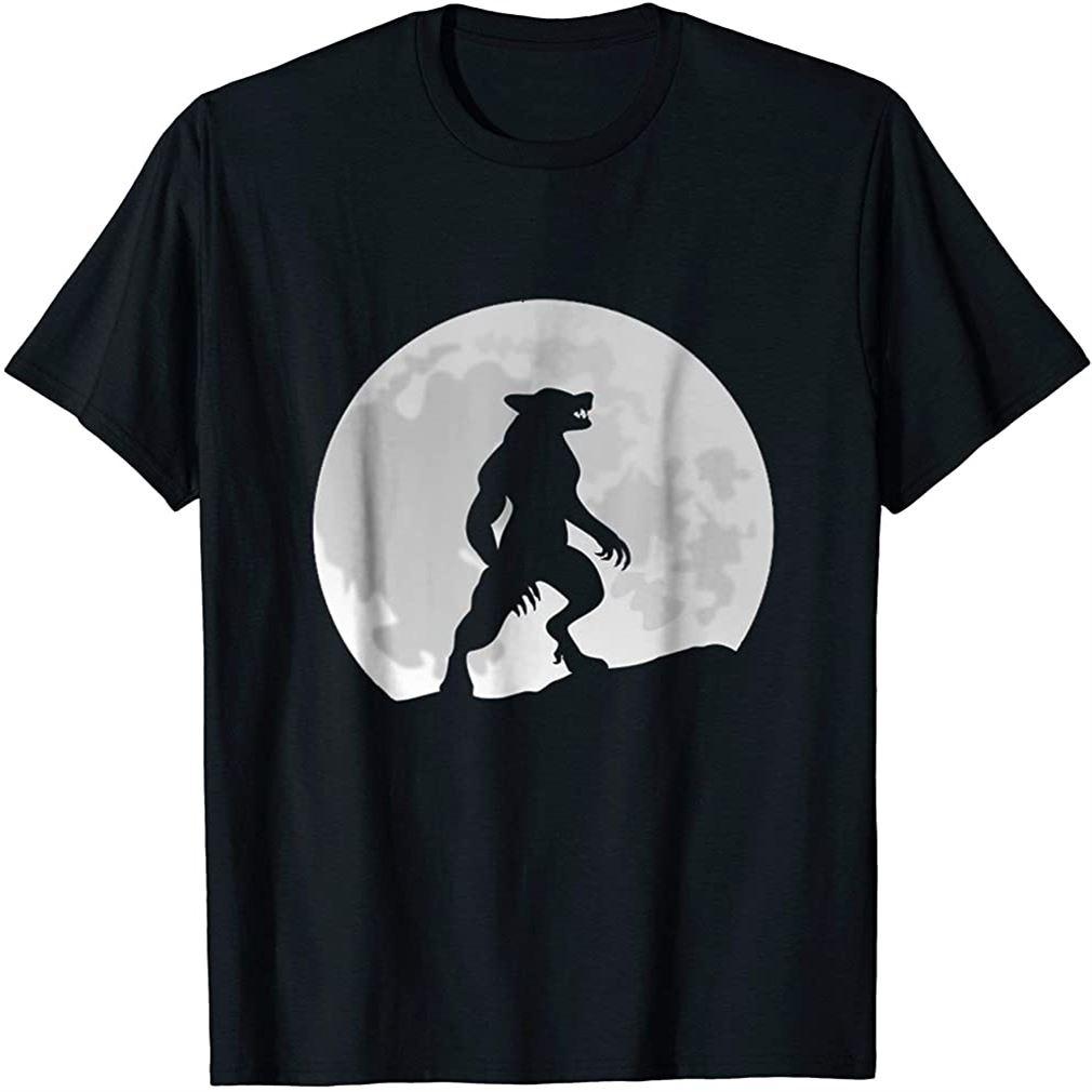 Werewolf Wolf Moon T-shirt Size Up To 5xl