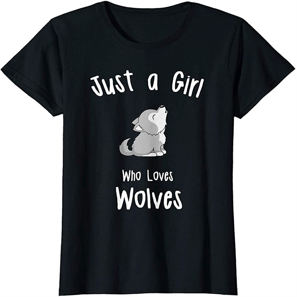 Wolf Shirt For Girls Girls Wolf T-shirt Plus Size Up To 5xl