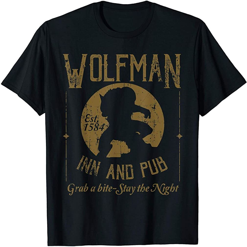 Wolfman Inn And Pub T-shirt Size Up To 5xl