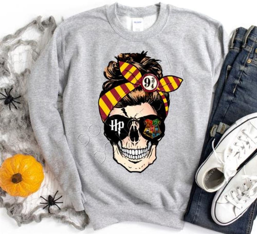 Harry Potter Skull Shirt