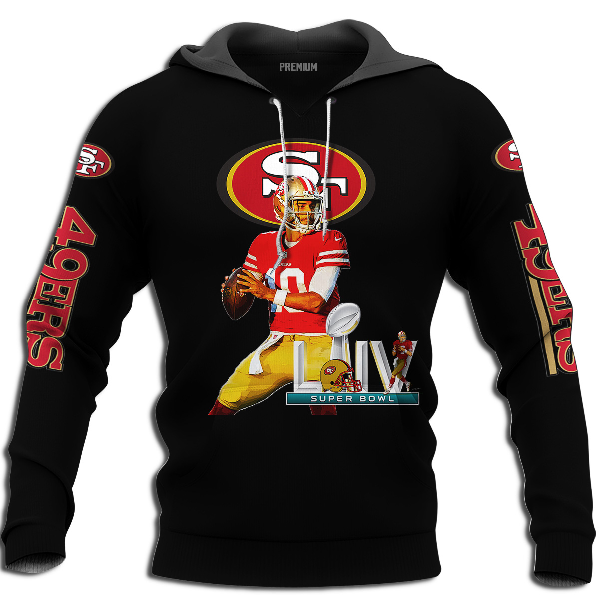 San Francisco 49ers Jimmy Garoppolo Super Bowl 2020 Full Size Up To 5xl