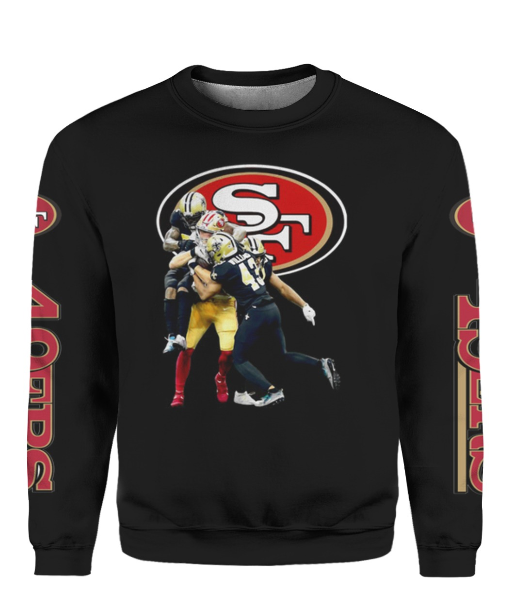 New Orleans Saints San Francisco 49ers Matchups T-shirt Full Size Up To 5xl