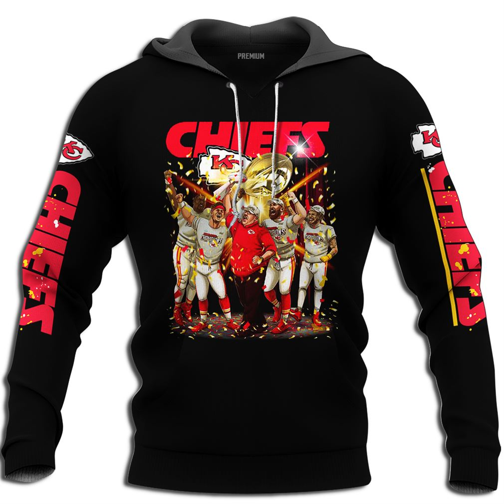 Chiefs Super Bowl Champion Size Up To 5xl
