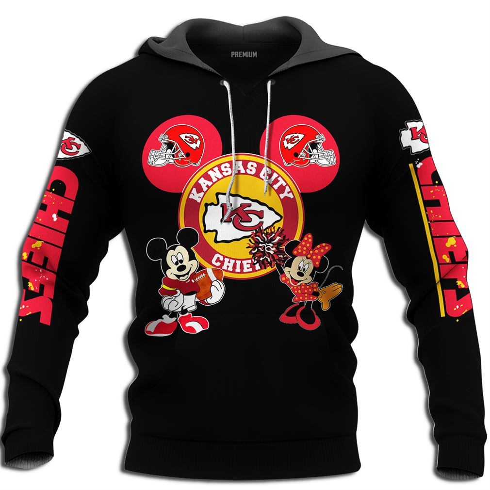 Disney Mickey Minnie Kansas City Chiefs Size Up To 5xl