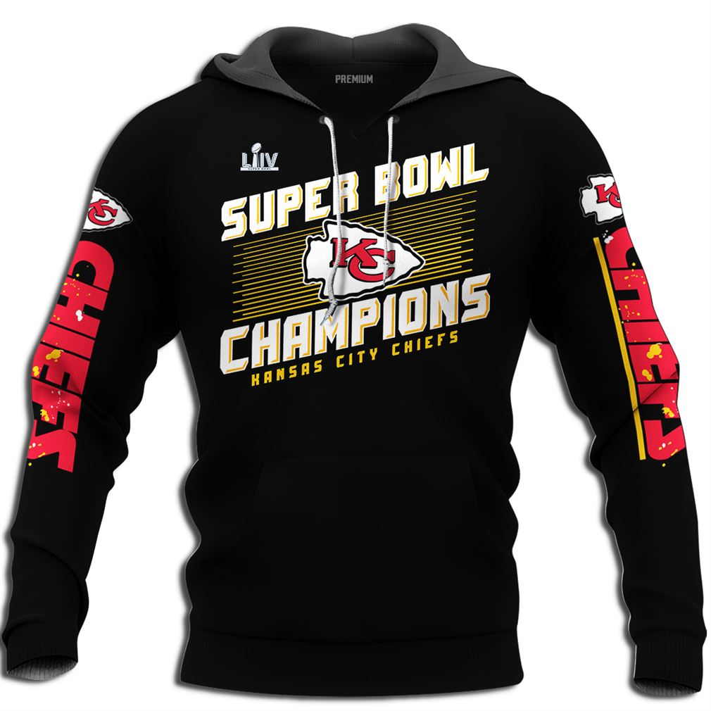 Super Bowl Champions Kansas City Chiefs Super Bowl Liv 2020 Champions Plus Size Up To 5xl