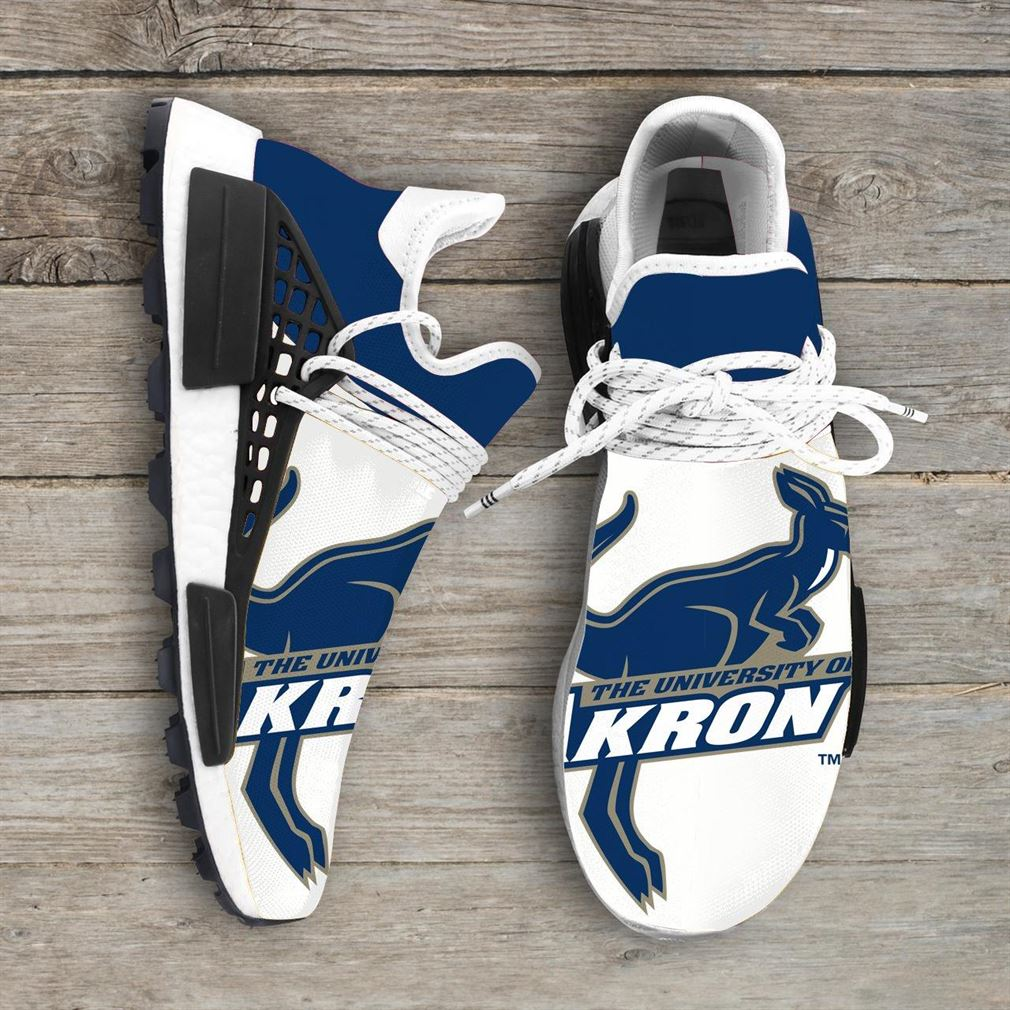Akron Zips Ncaa Nmd Human Race Sneakers Sport Shoes Running Shoes 1