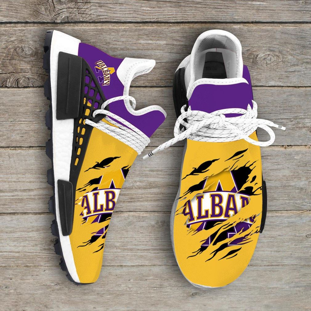 Albany Great Danes Ncaa Sport Teams Nmd Human Race Sneakers Sport Shoes Running Shoes